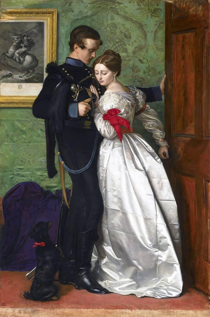 John Everett Millais The Black Brunswicker, 1860