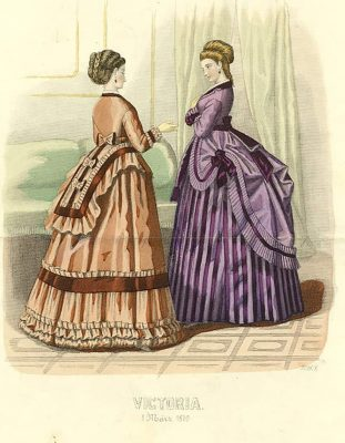 הדפס אופנה 1870